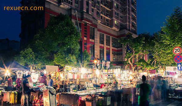 杭州有哪些美食街图片
